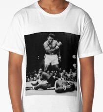 Muhammad Ali Knocks Out Sonny Liston Long T-Shirt