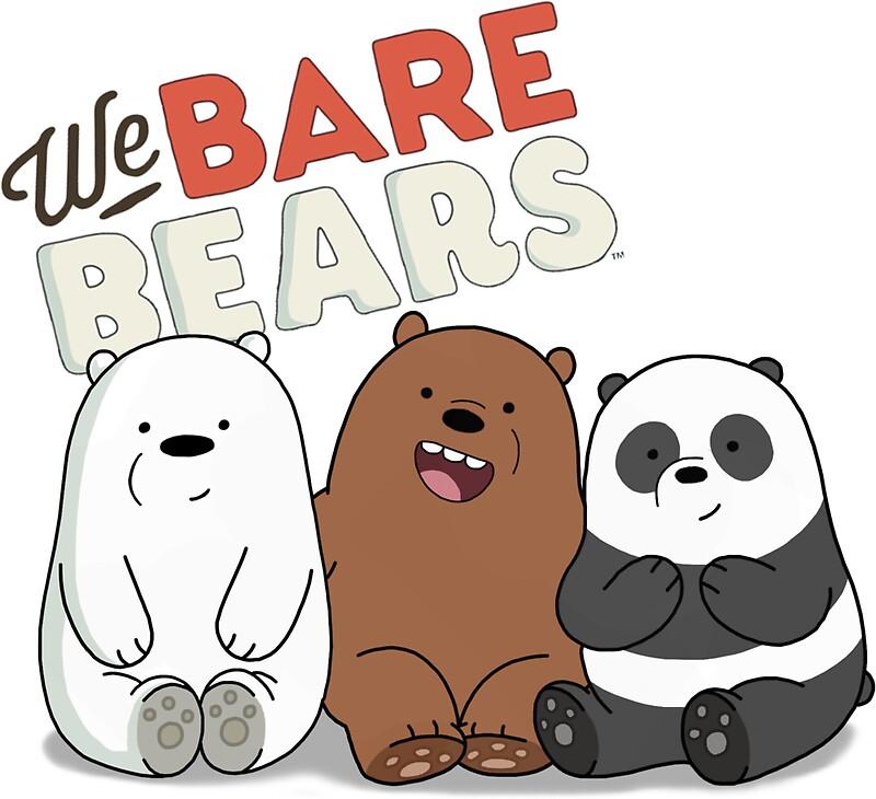 Pegatinas «Bare Bears Cartoon