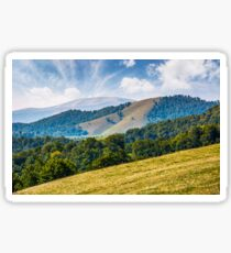 gorgeous autumn landscape in mountains Sticker