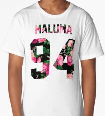 Maluma - Colorful Flowers Long T-Shirt