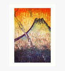 good morning  Mountain Art Print
