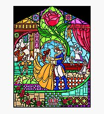 Patterns of the Stained Glass Window Photographic Print