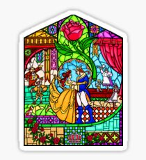 Patterns of the Stained Glass Window Sticker