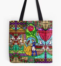 Patterns of the Stained Glass Window Tote Bag