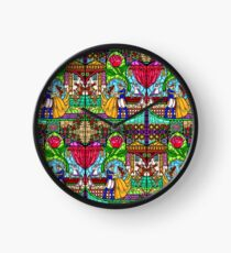 Patterns of the Stained Glass Window Clock