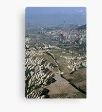 Turkey Hot Airballooning Canvas Print