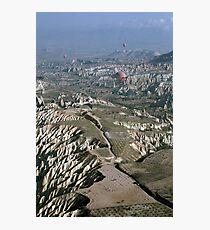 Turkey Hot Airballooning Photographic Print