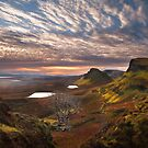 Quiraing at Sunrise. Trotternish. Isle of Skye. Scotland. by PhotosEcosse