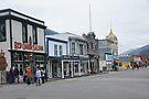 Broadway at 2nd Skagway Alaska by Allen Lucas