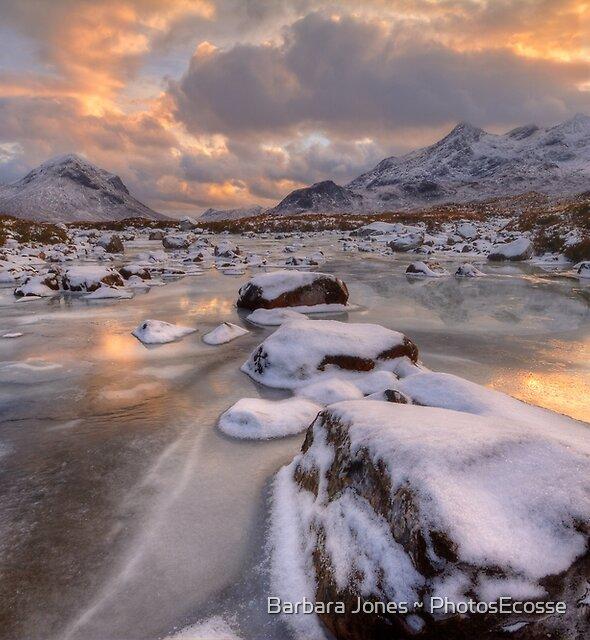 Sligachan at Christmas. Isle of Skye. Scotland. by Barbara  Jones ~ PhotosEcosse