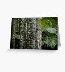 Kauri Striplings Greeting Card