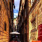 Dubrovnik Gasse von Tom Gomez