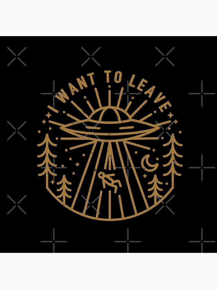 I Want To Leave by rfad