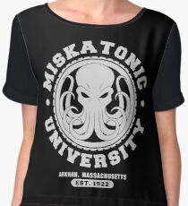 Miskatonic University Women's Chiffon Top