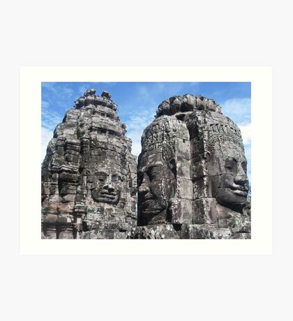 The Bayon - Angkor Thom Art Print