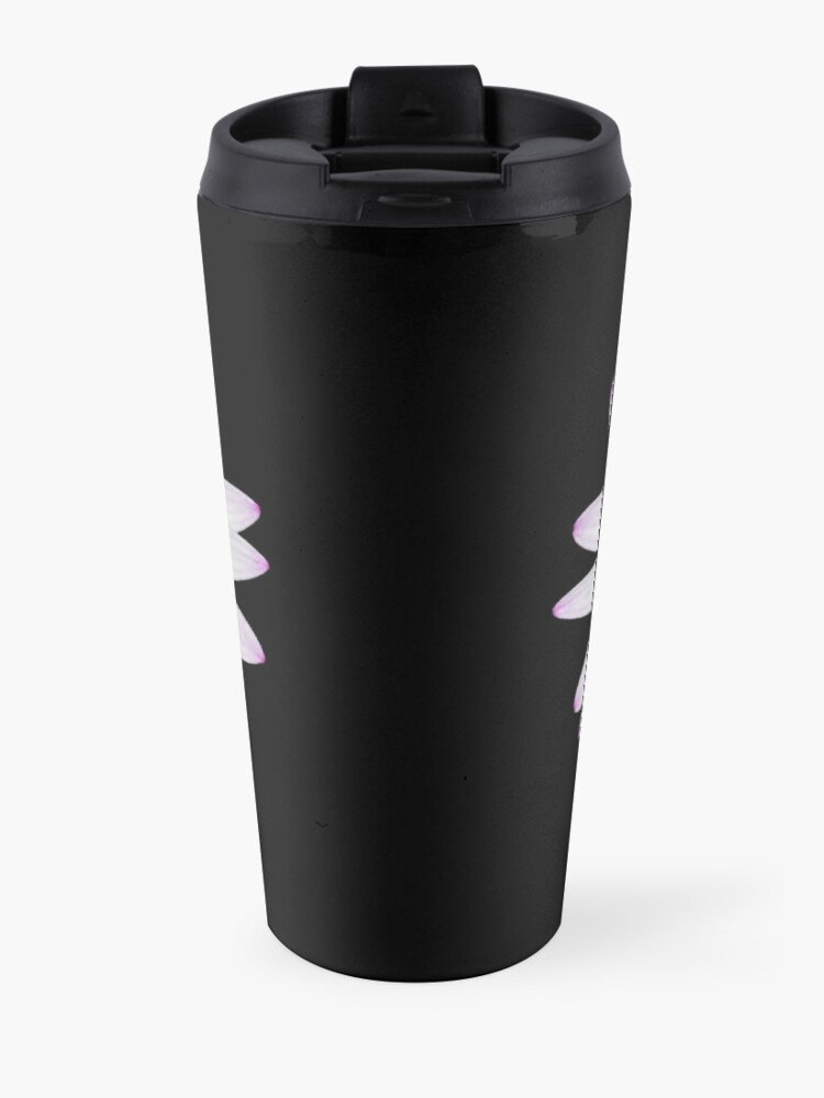 Alternate view of African Daisy Travel Mug