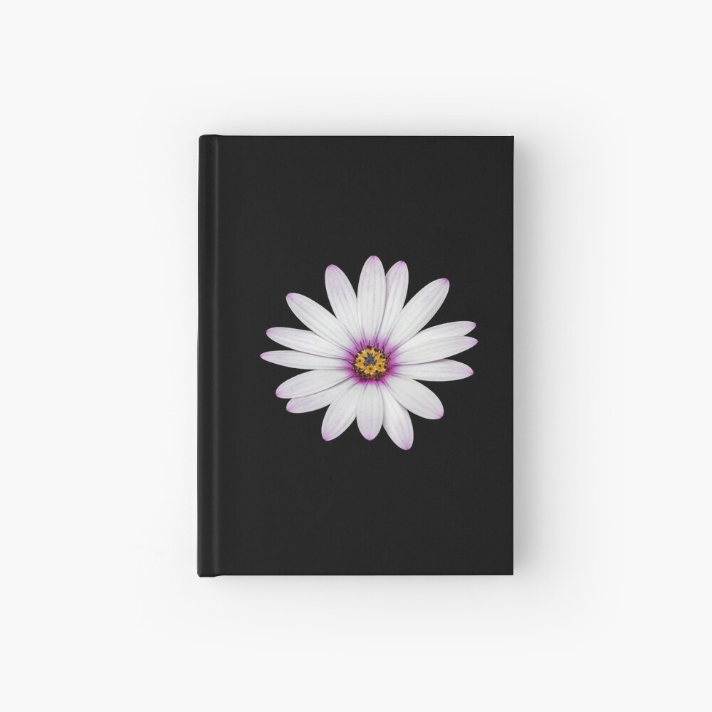 African Daisy Hardcover Journal