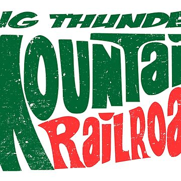 Big Thunder Mtn Railroad by Bt519