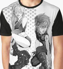 Blue with Envy - Divas - BW Graphic T-Shirt