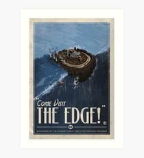 Grim Fandango Travel Posters - The Edge Art Print