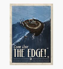Grim Fandango Travel Posters - The Edge Photographic Print