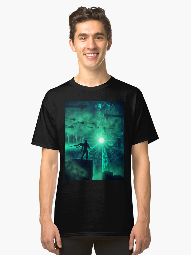 Alternate view of Enter new Life Classic T-Shirt