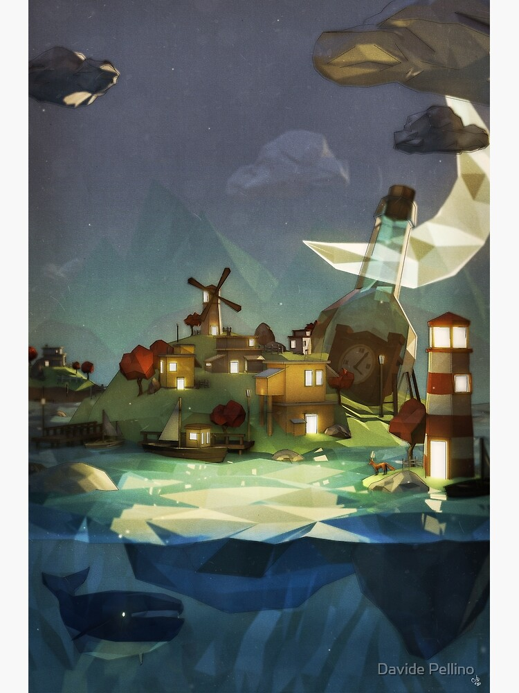 Fantasy Island at Nightime by JuggerNovel