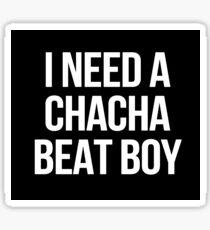 Jay Park - I NEED A CHACHA BEAT BOY Sticker
