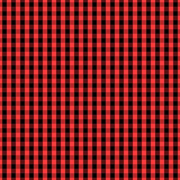 Large Black Donated Kidney Pink Gingham Check by Creepyhollow