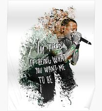 Simple Chester - White Poster
