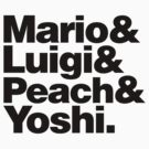 Super Mario & Friends by JAMES & MOONIE