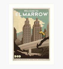 Grim Fandango Travel Posters Art Print