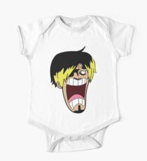 Scared Sanji One Piece - Short Sleeve