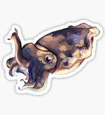 Edie the Cuttlefish Sticker
