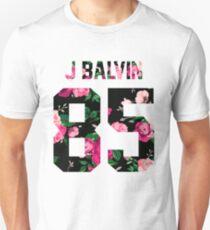 J Balvin - Colorful Flowers T-Shirt