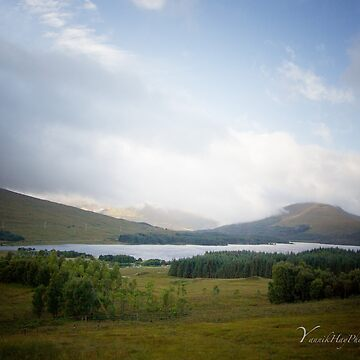 Loch Tulla and Stob Ghabhar in Background by Photograph2u