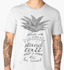 Be a Pineapple Men's Premium T-Shirt