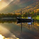 *Loch Lochy in Autumn, Highlands of Scotland.* by PhotosEcosse