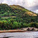 Inveraray Bridge by Tom Gomez