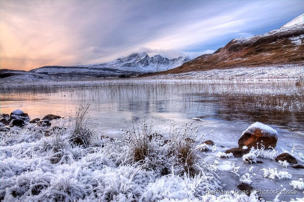 Blaven in Winter Light, Isle of Skye. Scotland. by PhotosEcosse