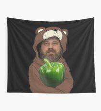 Richard Stallman GIMP Green Is My Pepper Lain  Wall Tapestry
