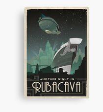 Grim Fandango Reise Poster - Rubacava Leinwanddruck