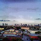 Miami at Dusk by photorolandi