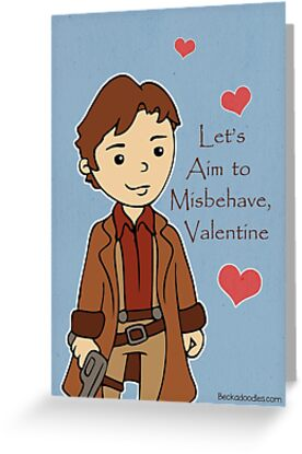 Firefly Mal Valentine by beckadoodles