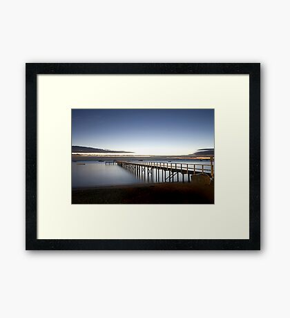 Just Before The Dawn Framed Print