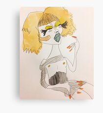 Wanda Screw Metal Print
