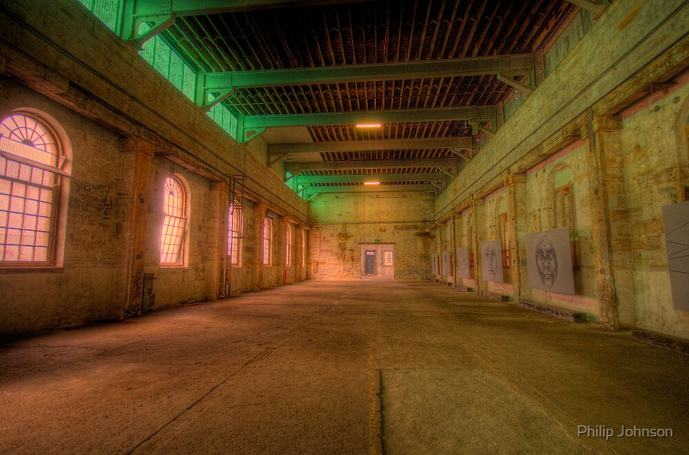 Silence - Cockatoo Island - The HDR Series by Philip Johnson