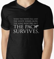 """Game of Thrones® - """"The Pack Survives"""" Quote T-Shirt & Memorabilia T-Shirt"""