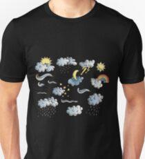 weather symbols Unisex T-Shirt