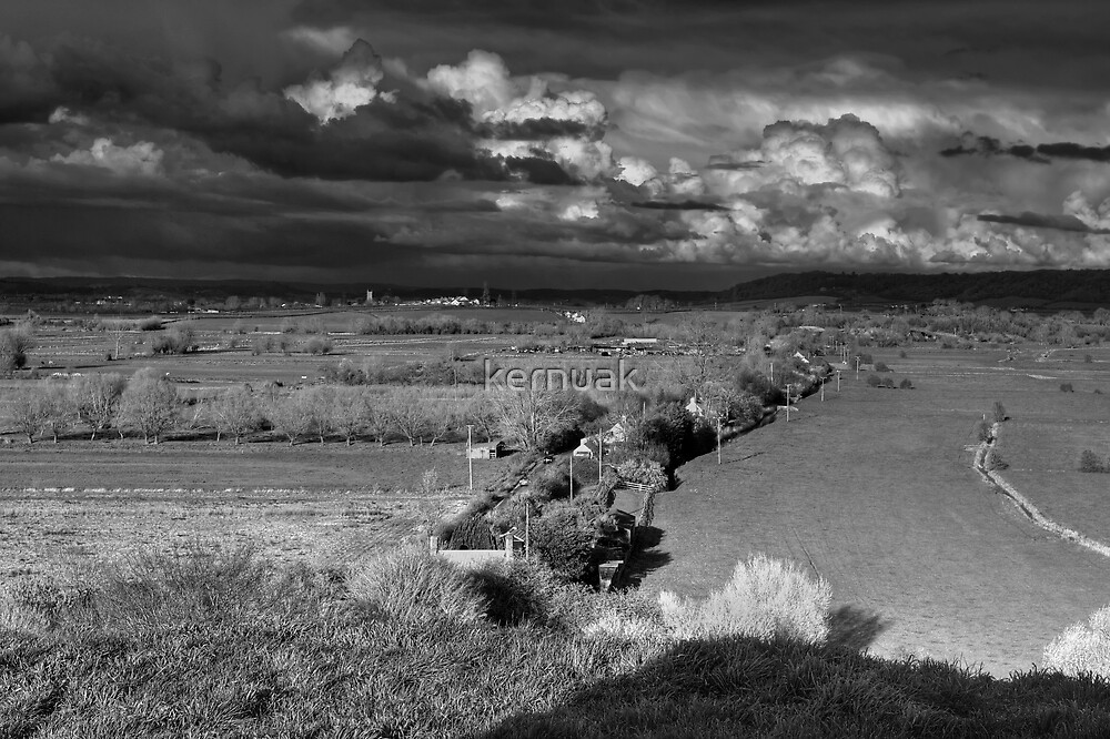 Storm on the Levels by kernuak